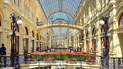 A guide to the very best shopping in Moscow