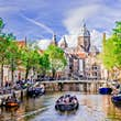 Spend Sunday afternoon exploring Amsterdam by boat © Sandra Mori / Shutterstock