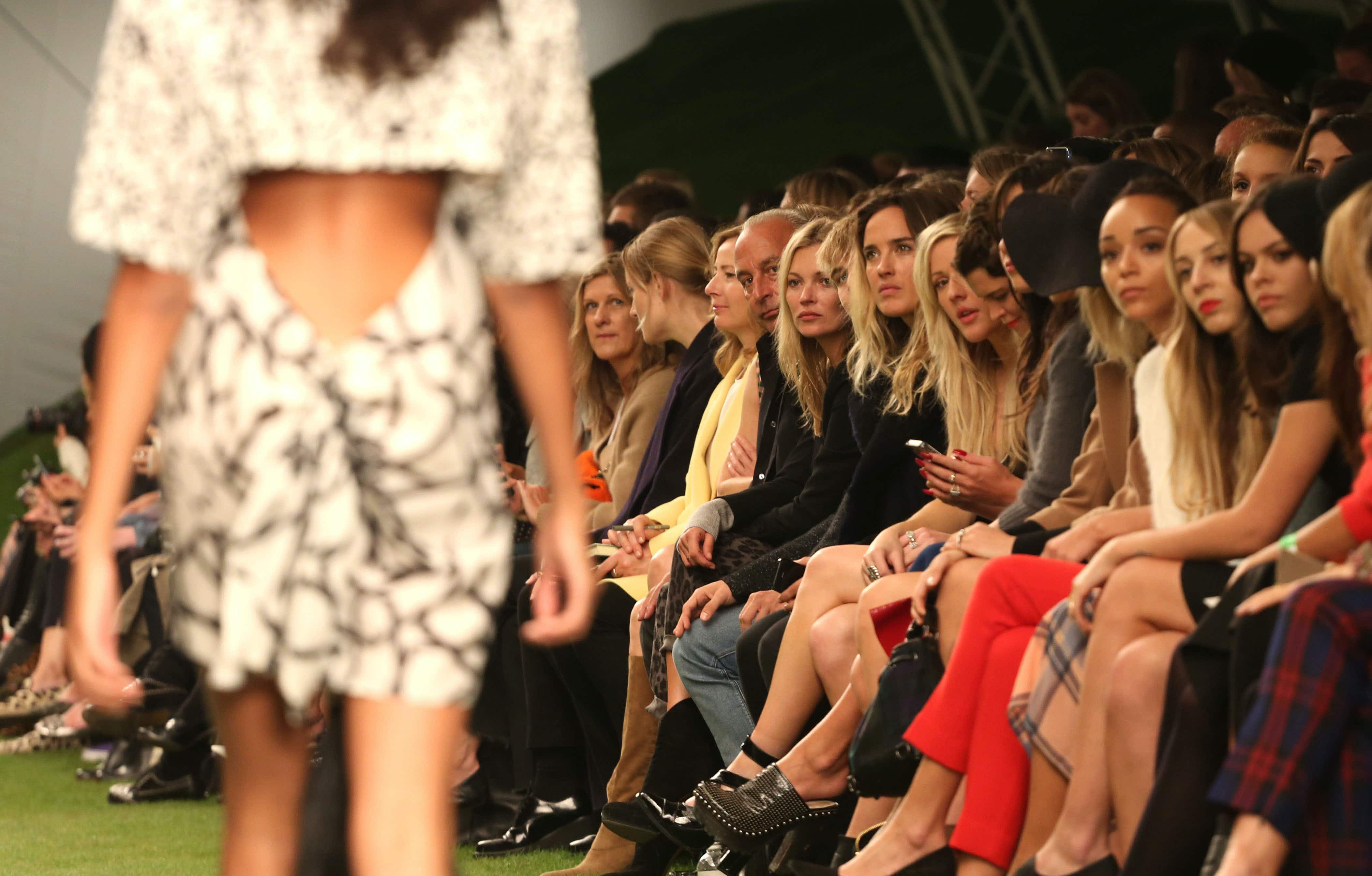 London Fashion Week attracts some of the biggest names in the industry © Featureflash Photo Agency
