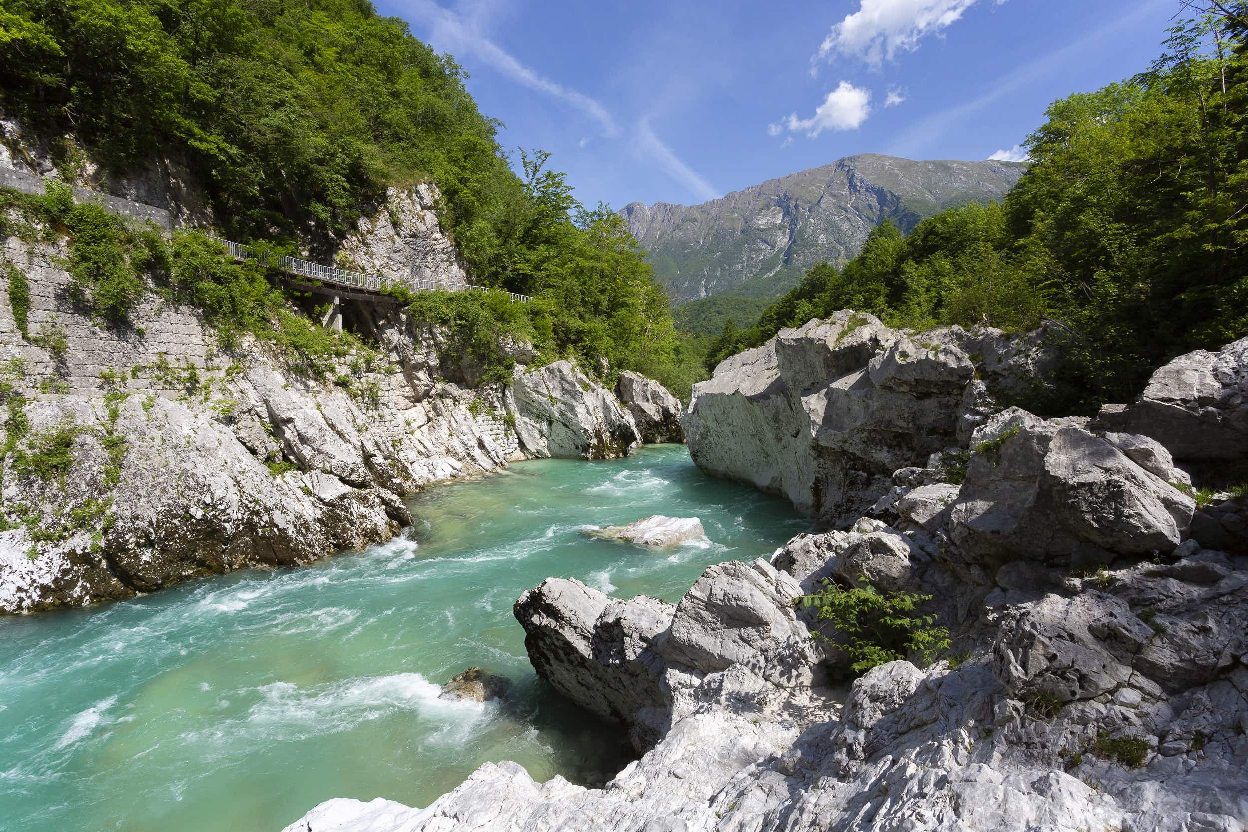 This new hiking route follows a WWI front line