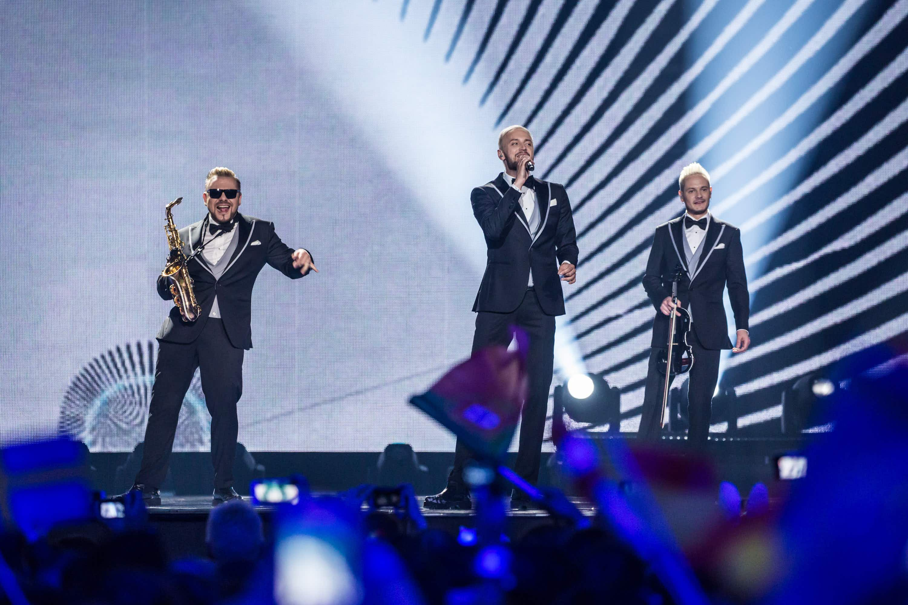 Eurovision's Epic Sax Guy tells people to stay at home during COVID-19 lockdown