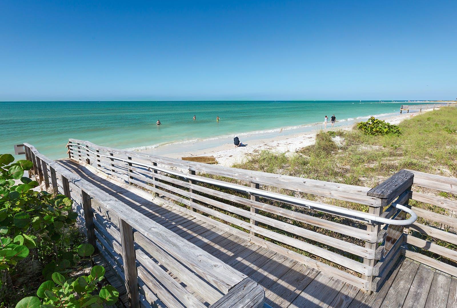 Beach In St Petersburg Florida