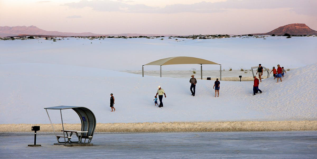 White Sands National Park is the newest in the US