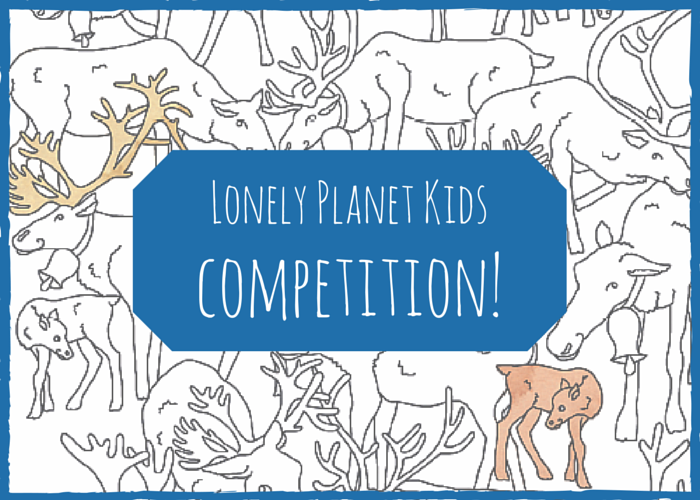 Lonely Planet Kids: colouring competition