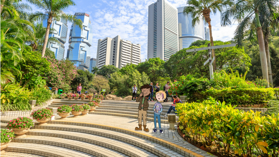 Come explore with Marco and Amelia: Amelia visits Hong Kong...