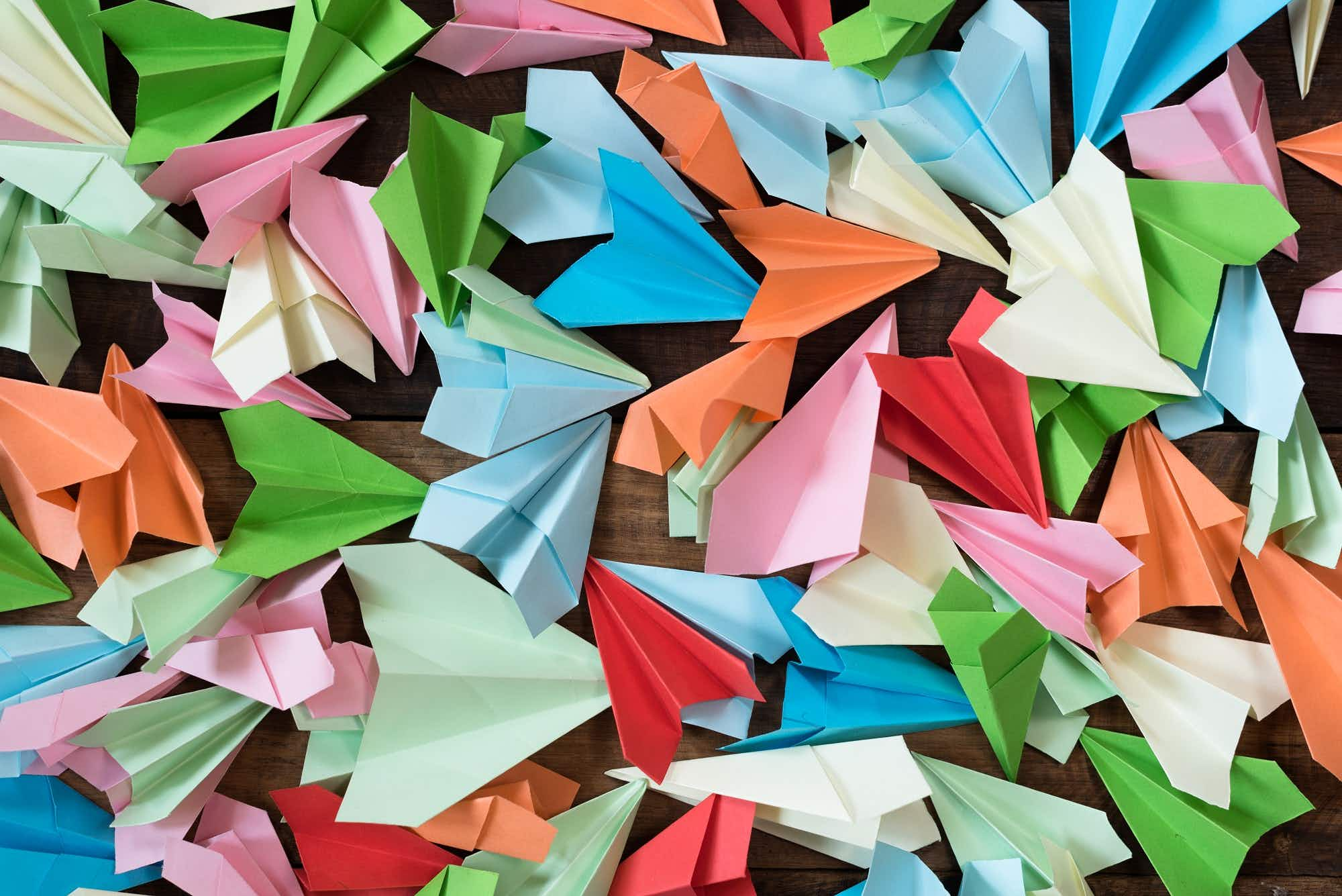 Rainy day adventures: learn how to make a paper plane
