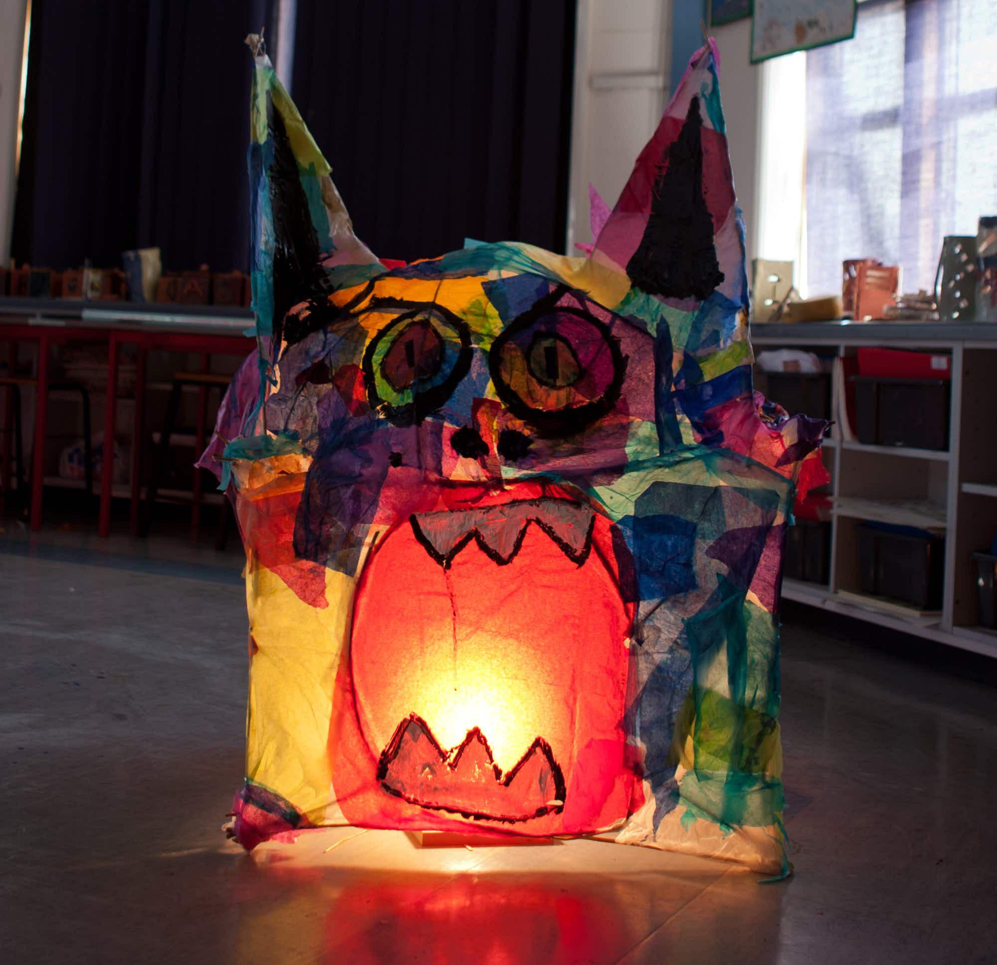 Wild Things: make your own magic lantern