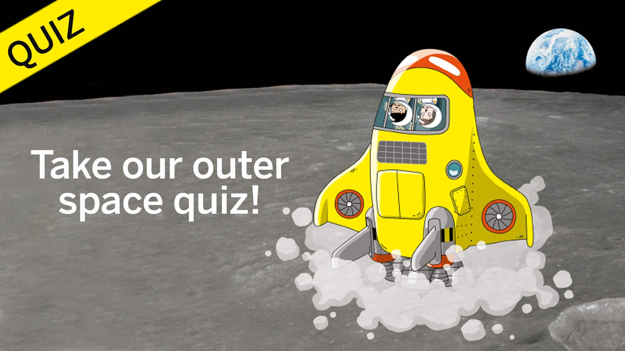 Take our Daredevil's Guide to Outer Space quiz!