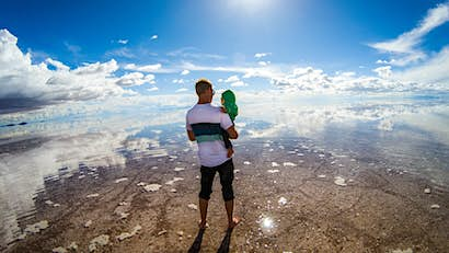 Family travel snap: visiting the famous Salar de Uyuni in Bolivia