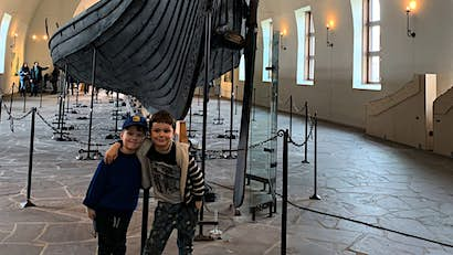 Family travel snap: learning about Vikings and cinnamon buns in Oslo