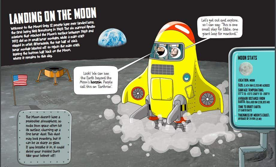 Did you know? 10 amazing facts about the Moon Landings on 20th July 1969