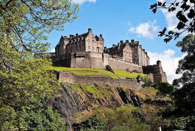 Edinburgh Castle's iconic rock formation to undergo transformation for international festival