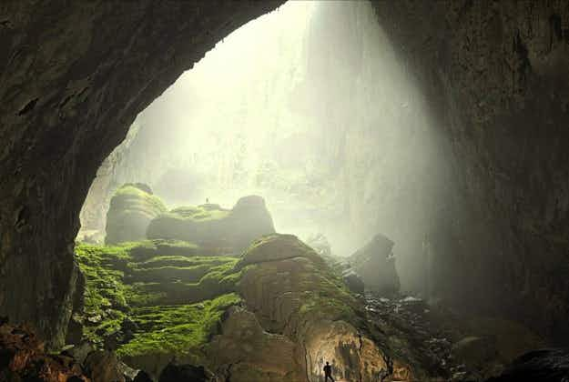 Vietnam opens amazing new caves which are so big the tour takes two days