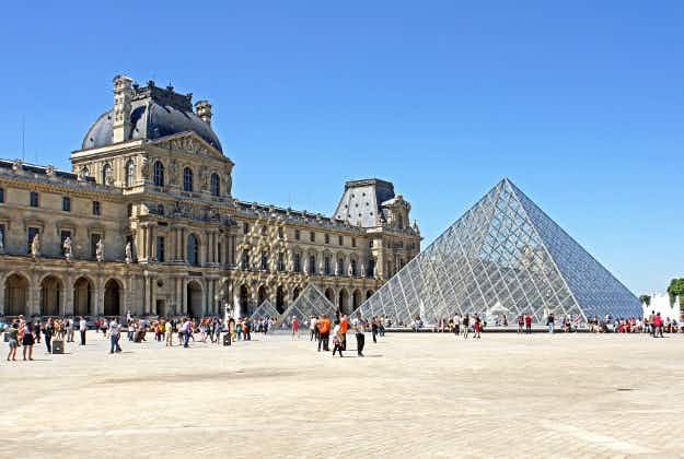 The Louvre's iconic Pyramid will be 'transformed' through street art exhibit this summer