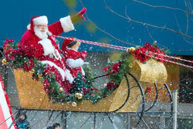 Now children can track Santa's journey online