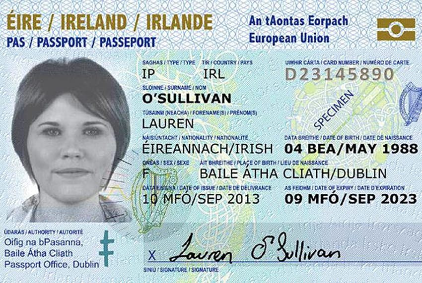 Irish passport-holders face new Visa Waiver Programme regulations on US  trips - Lonely Planet