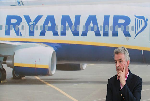Ryanair CEO Michael O'Leary is looking to add wi-fi to his aircraft without adding costs to fare prices