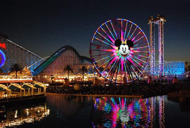 Roller-coaster halted as man uses selfie stick during Disneyland ride