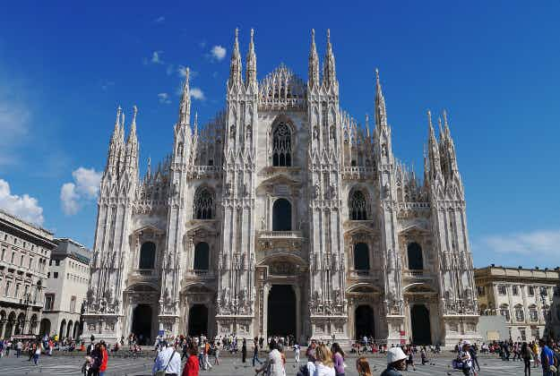 American tourist spends the night on Milan's Cathedral roof after being locked in