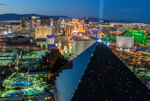 Las Vegas tops the poll as Expedia reveals the most popular US travel destinations