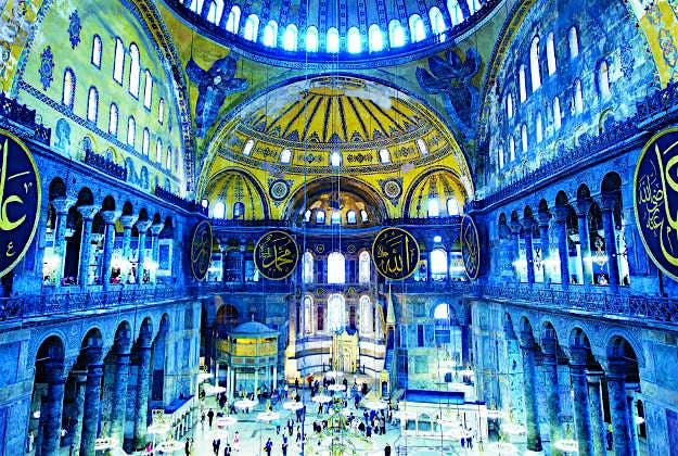 Aya Sofya, Turkey, No10 in the Ultimate Travellist.