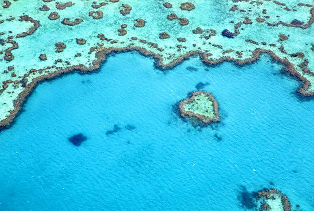 The Great Barrier Reef, Australia, No2 in the Ultimate Travellist.