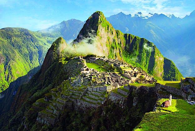 Machu Picchu, Peru, No 3 in the Ultimate Travellist.