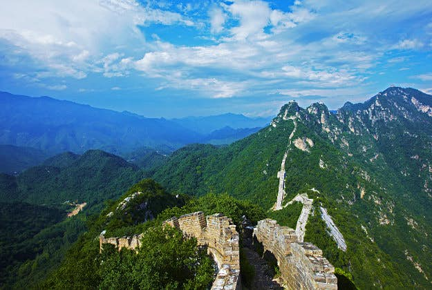 The Great Wall of China, No4 in the Ultimate Travellist.