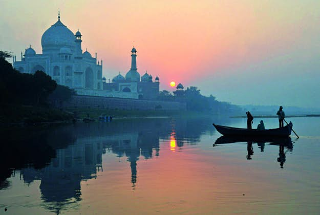 The Taj Mahal in India, No5 in the Ultimate Travellist.