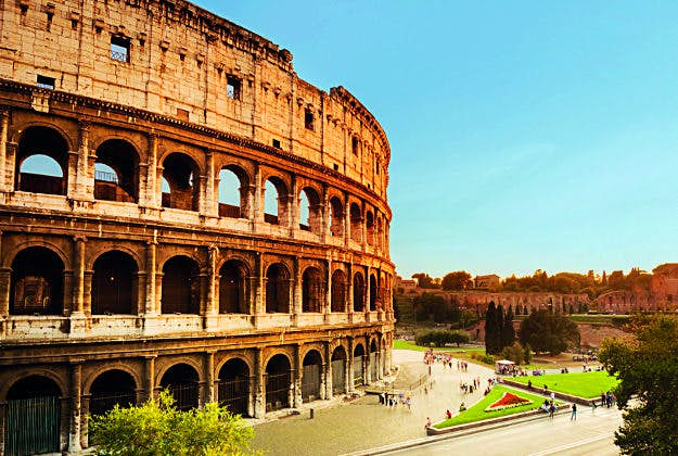 The Colosseum in Rome, No7 in the Ultimate Travellist.