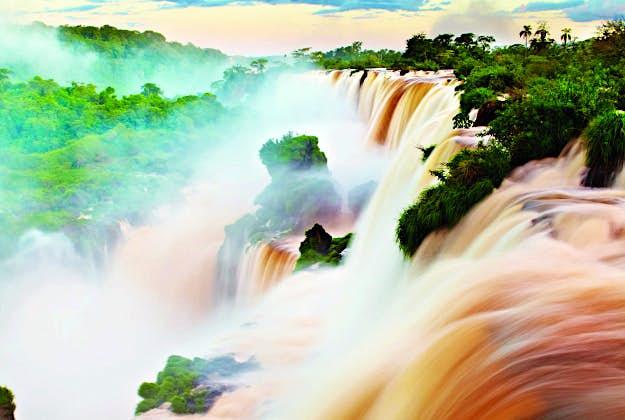 Iguazu Falls, Brazil, Argentina, No8 in the Ultimate Travellist.