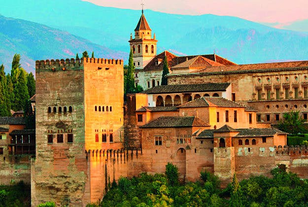 Alhambra, Spain, No9 in the Ultimate Travellist.