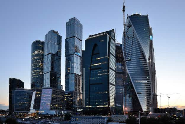 New market enlivens Moscow City financial district
