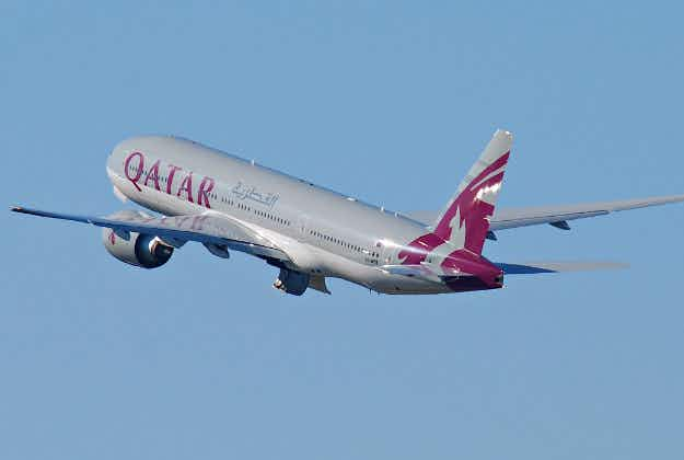 First new generation Airbus lands in Australia on inaugural flight from Doha