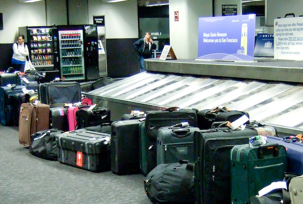 Lost luggage: good news for airline passengers as mishandled bag numbers continue to drop