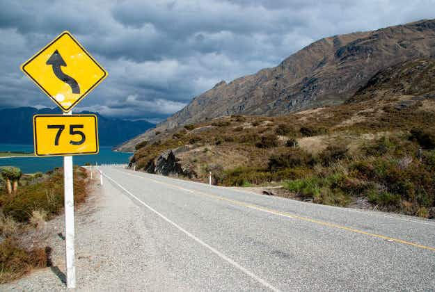 New Zealand safety campaign wants tourists to take driving tests and display T-plates