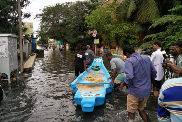 Indian taxi app Ola sets up rescue boats in Chennai