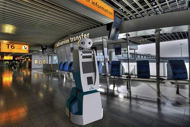 Air passengers don't want airport security staff replaced by robots