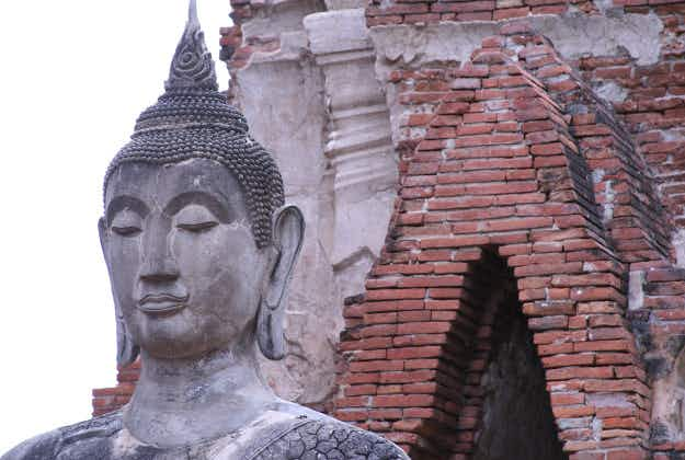 Monk's dreams lead to discovery of ancient Buddha head