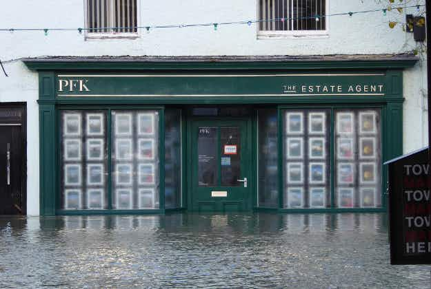 Flooding in Britain and Ireland after Storm Desmond
