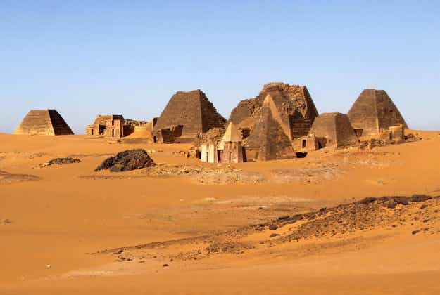 Qatar investing in uncovering ancient pyramids in Sudan