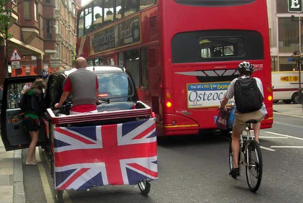 London council threatens rickshaw driver ban