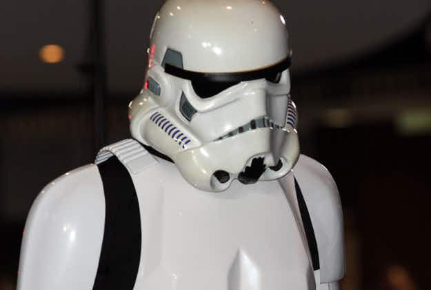 Stormtroopers touch down for film premiere in Abu Dhabi