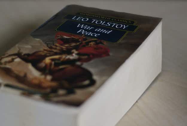 Marathon reading of War & Peace begins in Russia