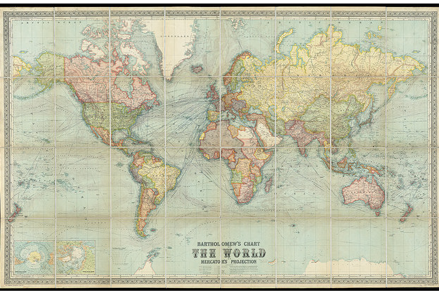 1914 map will make you rethink your travel woes