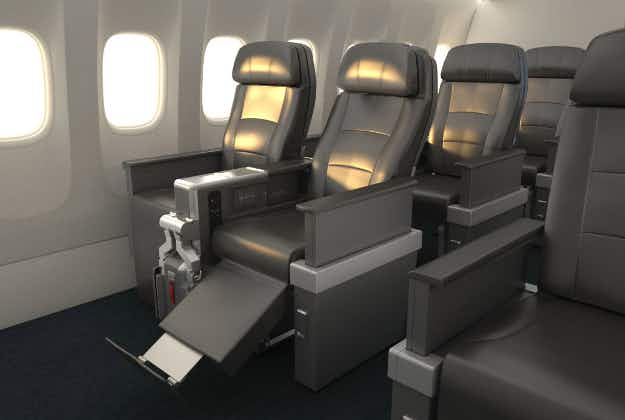 New 'premium' economy class on American Airlines