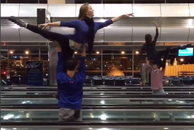 Ballet group uses layover to make Denver Airport dance video