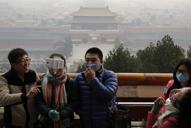 Restaurant in smog-hit China charges customers for clean air!