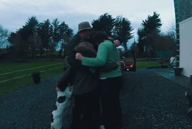 Aer Lingus brings five families home to Ireland for Christmas