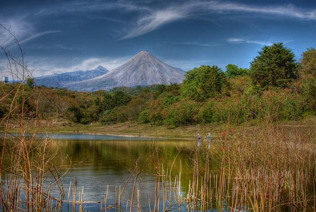 Mexico's Colima Volcano has active holiday season